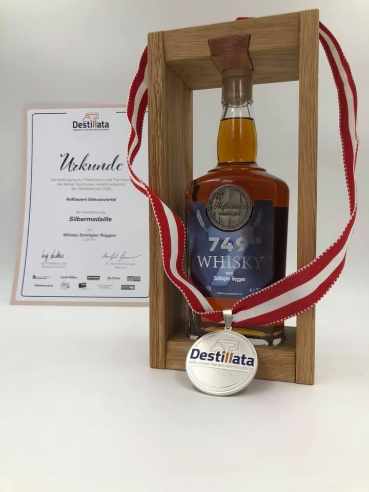 Whisky 749er Destillata